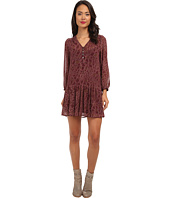 Sam Edelman - L/S Croc Print Dress