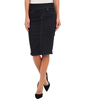 Liverpool - Cecil Pull-On Denim Pencil Skirt - 24