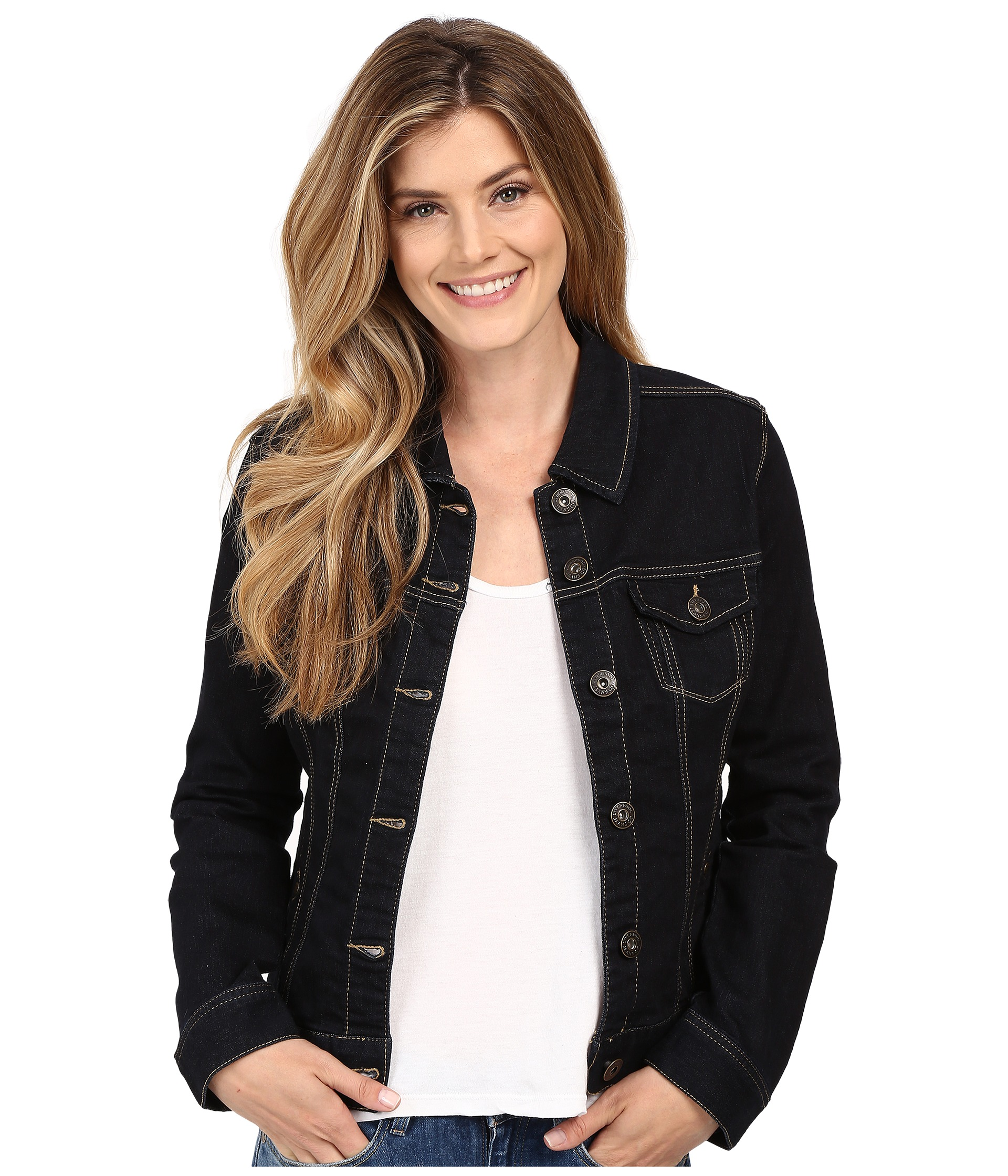 Liverpool Denim Jacket - Zappos.com Free Shipping BOTH Ways