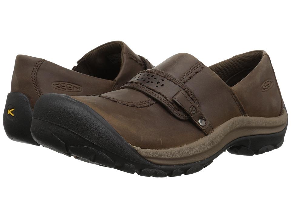 Keen Kaci Full Grain Slip-On (Cascade Brown) Slip-On Shoes