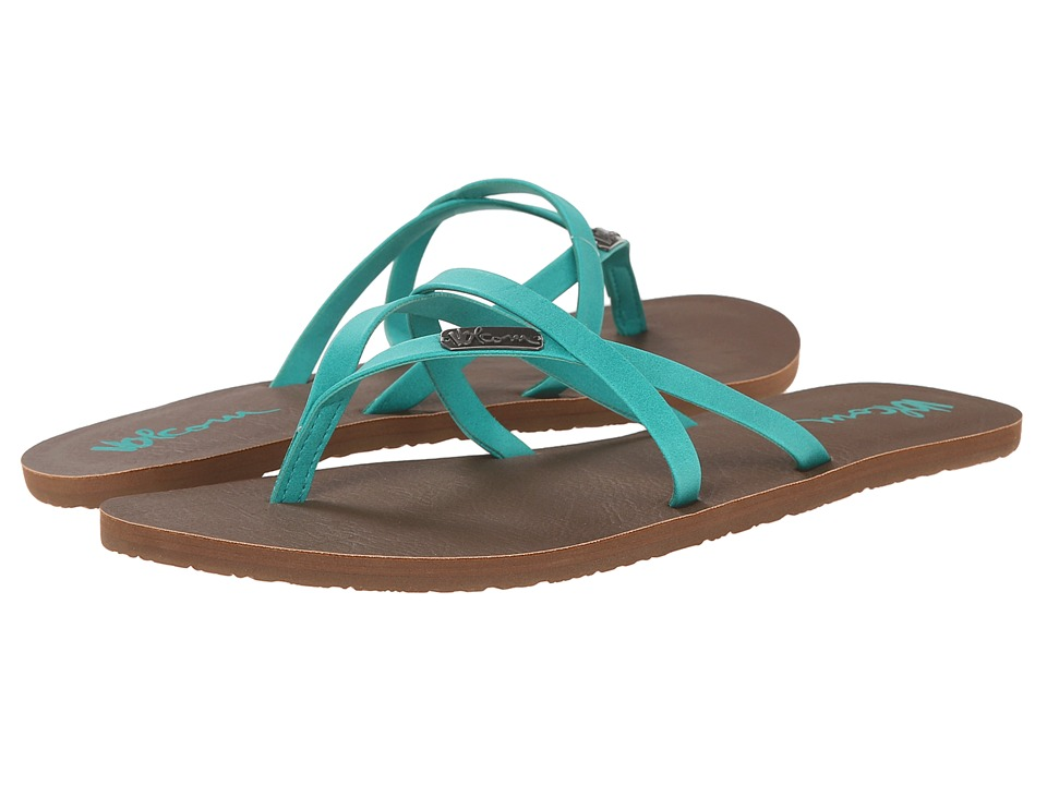 Volcom All Night Long 2 Aqua Womens Sandals