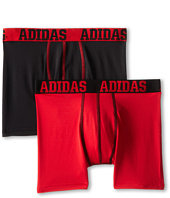 adidas Kids - ClimaLite 2-Pack Boxer Brief (Big Kids)