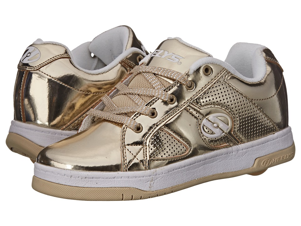 Heelys Split Chrome Little Kid/Big Kid/Adult Gold/Chrome Girls Shoes