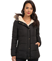 LAUREN by Ralph Lauren - Down Coat w/ Corduroy Combo