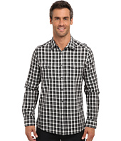 Kenneth Cole Sportswear - L/S Heather Check Two-Pocket Shirt