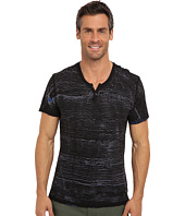 Kenneth Cole Sportswear - S/S Y Neck Painted Henley