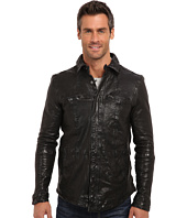 Kenneth Cole Sportswear - Washed Leather Shirt Jacket