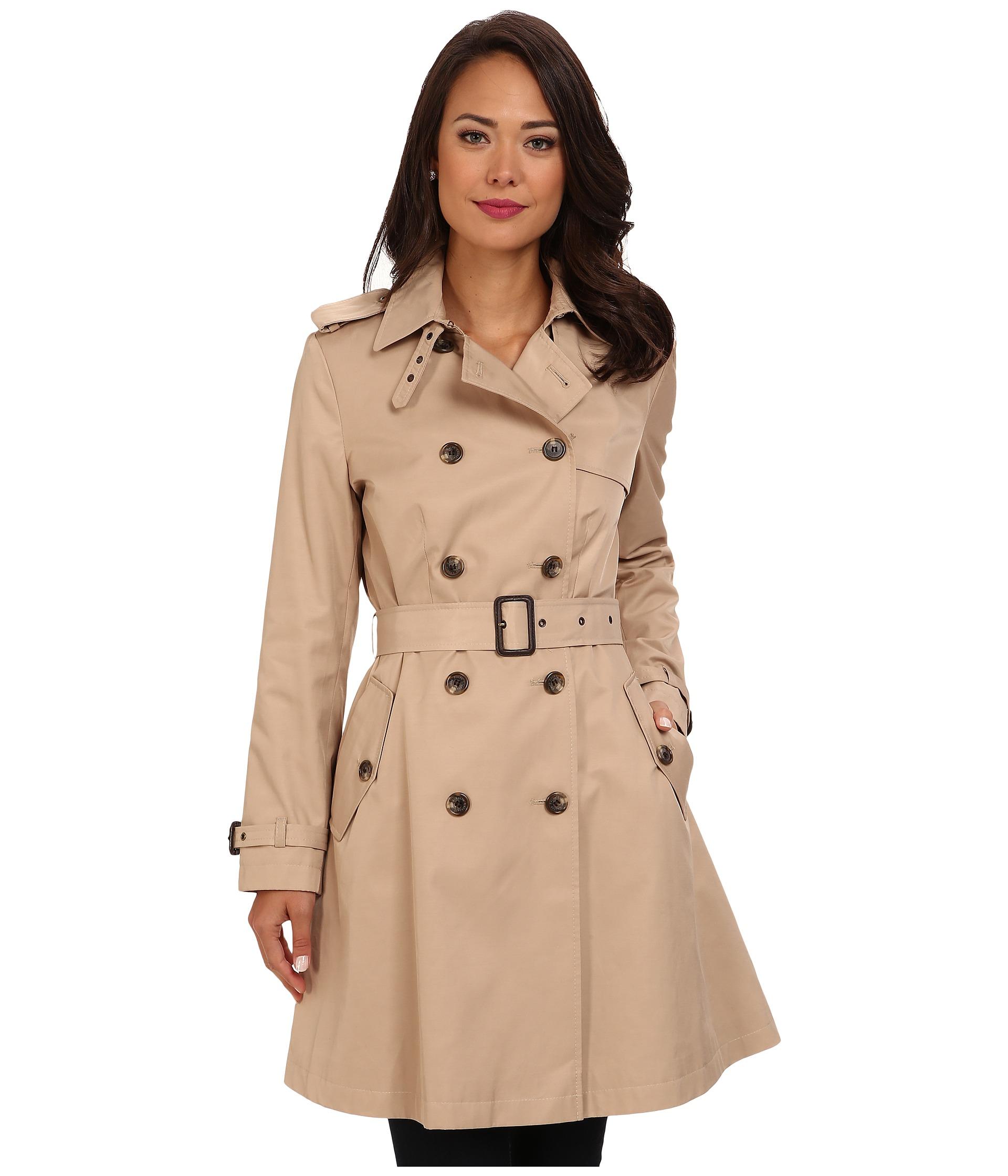Womens rain trench coat