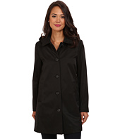 LAUREN by Ralph Lauren - Hooded A-Line Rain Coat w/ Removable Warmer