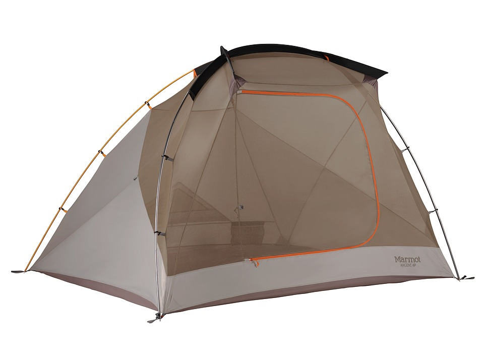 Marmot Argent 4P Blaze/Sandstorm Outdoor Sports Equipment
