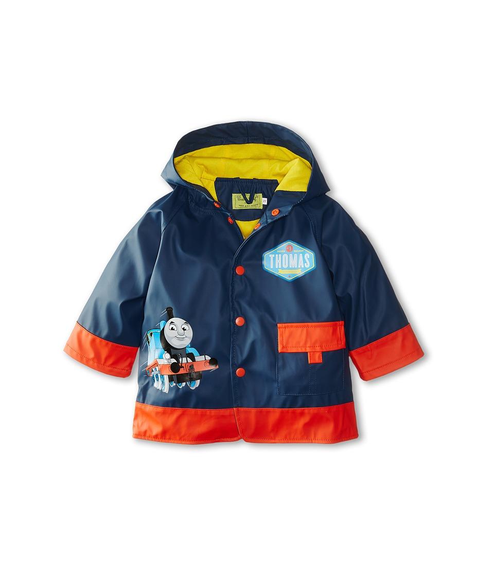 Western Chief Kids Thomas Blue Engine Raincoat Toddler/Little Kids Navy Boys Coat
