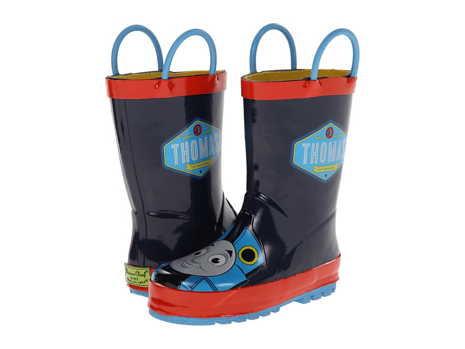 Western Chief Kids Thomas Blue Engine Rainboot Toddler/Little Kid/Big Kid Navy Boys Shoes