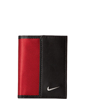 Nike - Nike Leather/Tech Twill Credit Card Fold