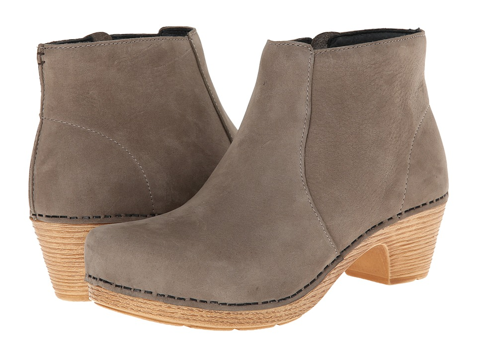 Dansko - Maria (Taupe Milled Nubuck) Womens Pull-on Boots