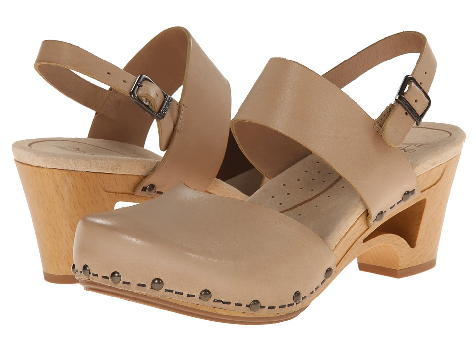 Dansko - Thea (Sand Full Grain) Women's Shoes