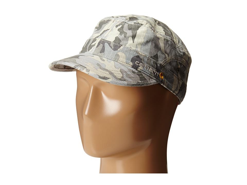Carhartt El Paso Ripstop Military Cap Camo Gray Caps
