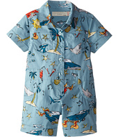Stella McCartney Kids - James Shark Printed Romper (Infant)