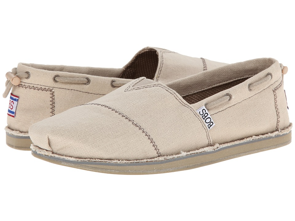 BOBS from SKECHERS Bobs Chill Sailboat Natural Womens Slip on Shoes