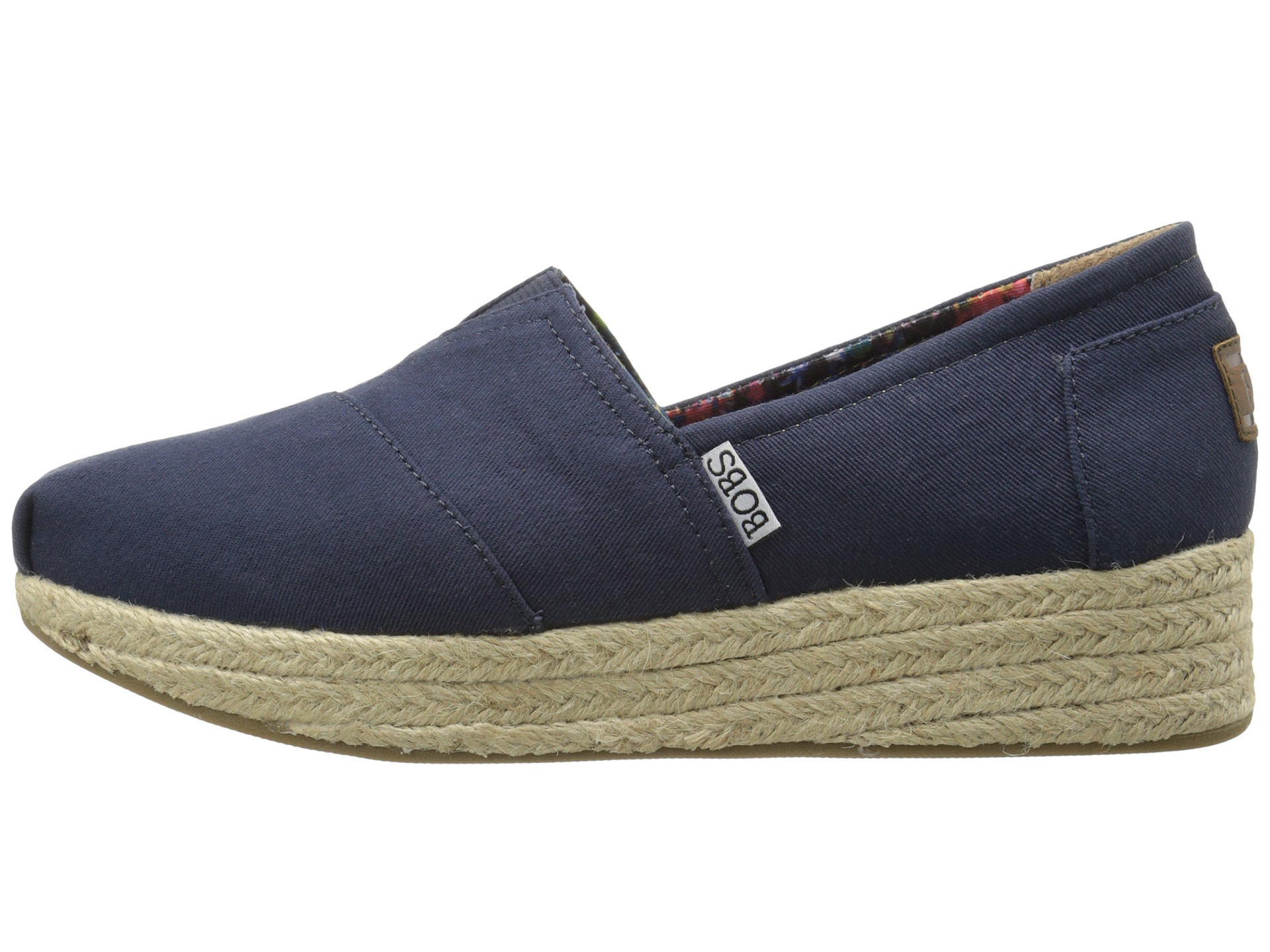 BOBS From SKECHERS Wedge Espadrille Memory Foam - Zappos.com Free Shipping BOTH Ways