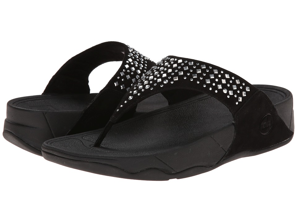 FitFlop - Novy (Black) Women's Sandals