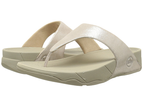 FitFlop Lulu Shimmersuede - Nude