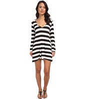 Athena - Finesse Solids Stripe Tunic Cover-Up