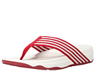 FitFlop - Surfa (Classic Red/Urban White)