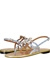 Roberto Cavalli - Color Block Flat Sandal