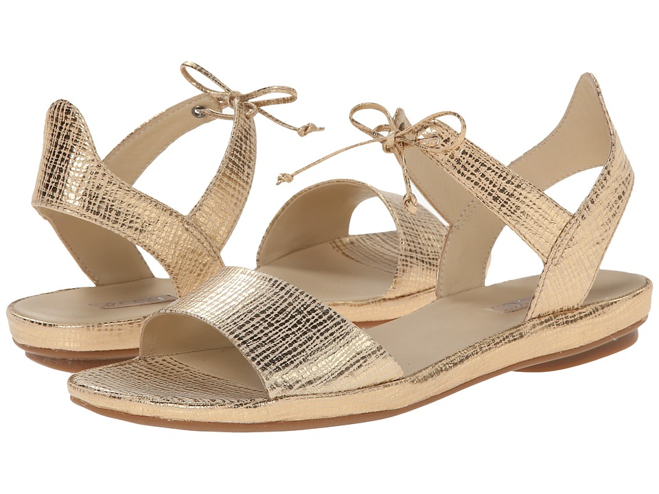 ECCO - Tabora (Gold) Women's Sandals