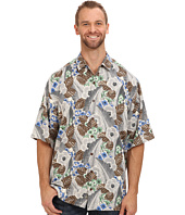 Tommy Bahama Big & Tall - Big & Tall AI Deco S/S Camp Shirt