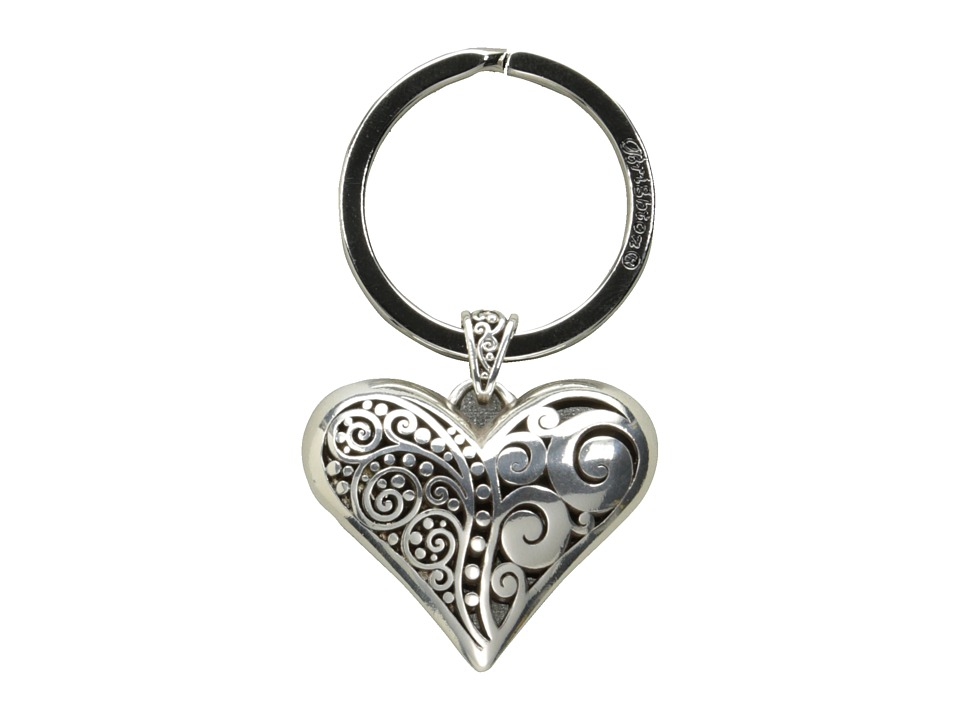Brighton - Love Affair Keyfob (Silver) Pendants Pins