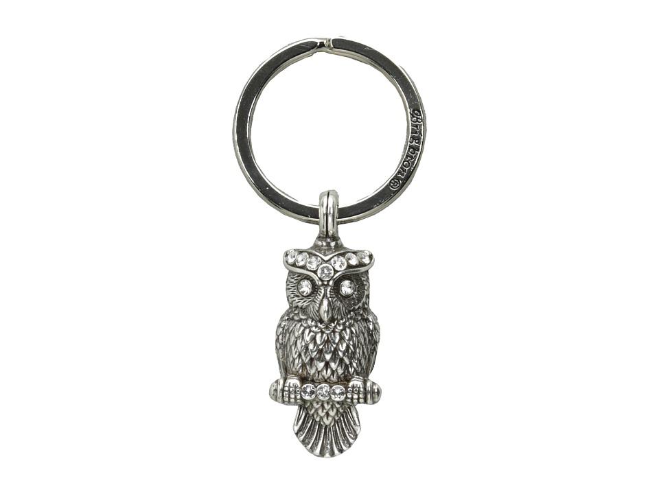 Brighton - Wisdom Owl Keyfob (Crystal) Pendants Pins