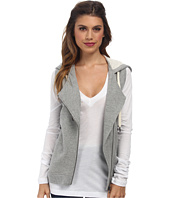 C&C California - Loopy French Terry Asymmetrical Zip Hoodie Vest