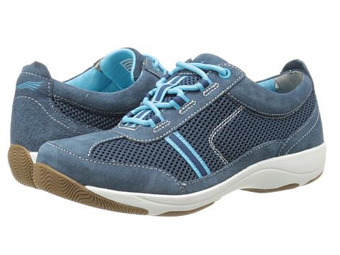 Dansko - Helen (Navy/Aqua Suede) Women's Shoes