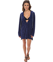 Splendid - Sunblock Solids Hooded Tunic Cover-Up