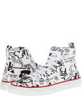 DSQUARED2 - Printed High Top Sneaker