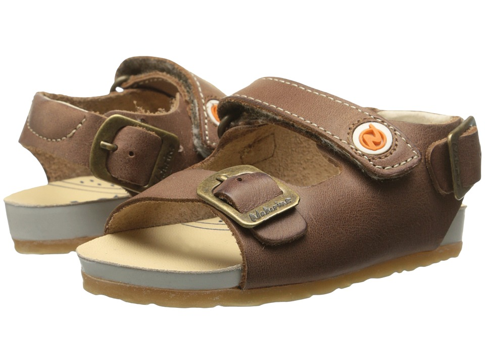 Naturino Nat. 1407 SP15 Toddler Brown Boys Shoes
