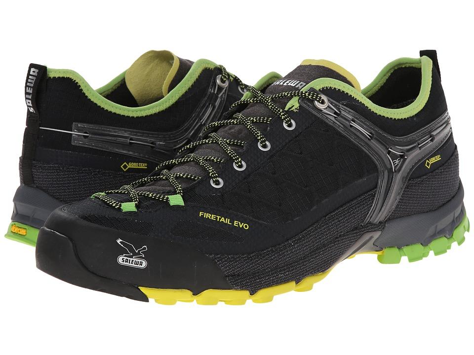 SALEWA Firetail Evo GTX Black/Emerald Mens Shoes