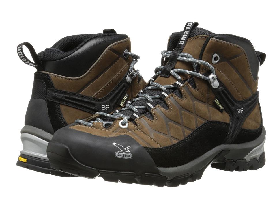 SALEWA Hike Trainer GTX Brown Mens Shoes