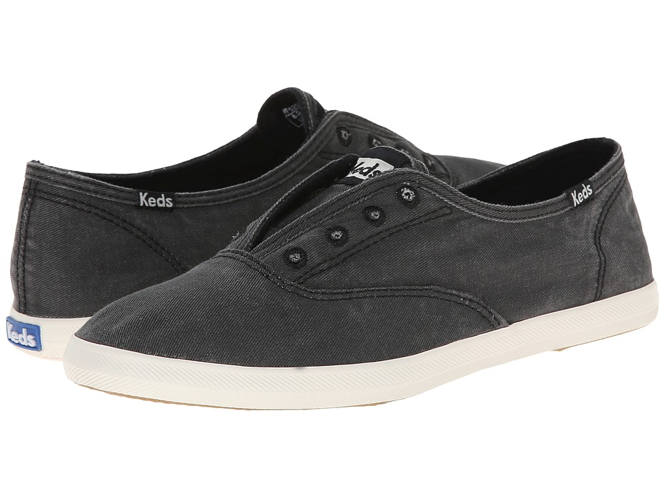 Keds Chillax Charcoal Womens Slip on Shoes