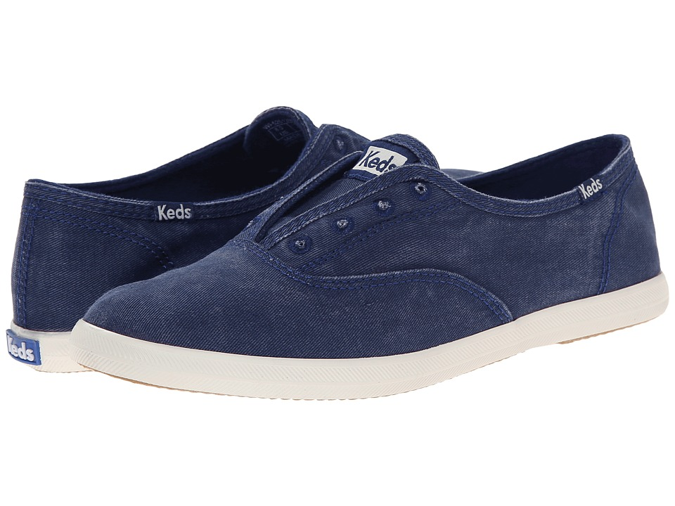Keds Chillax Navy Womens Slip on Shoes