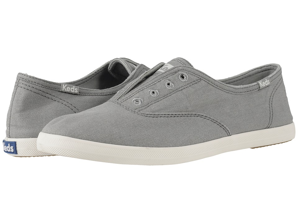 Keds Chillax Drizzle Grey Womens Slip on Shoes