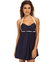 Nautica - Spindle Molded Cup Swim Dress NA82545