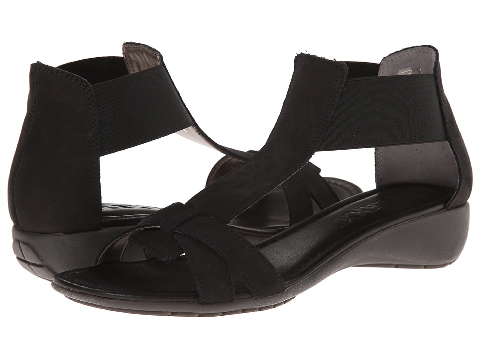 The FLEXX - Band Together (Black Nubuck) Women's Sandals