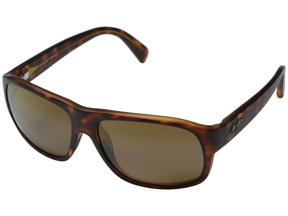 Maui Jim Free Dive Matte Tortoise/HCL Bronze Fashion Sunglasses