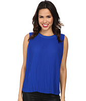 Vince Camuto - Short Sleeve Pleated Shell