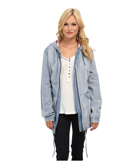 MINKPINK - Hay Seed Anorak (Denim) - Apparel