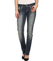 Antique Rivet - Juniors Straight Jeans in Graceland