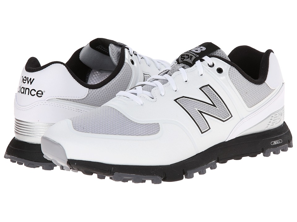 New Balance Golf NBG574B White Mens Golf Shoes