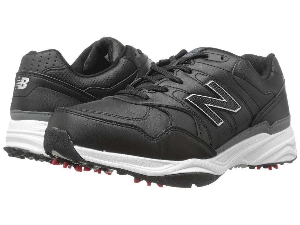 New Balance Golf NBG1701 Black Mens Golf Shoes